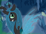 Queen Chrysalis by FrostheartIsSiamese
