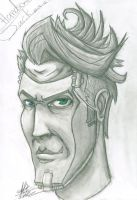 Handsome Jack by Sazamika