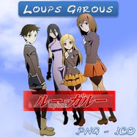 Loups=Garous ICO and PNG by bryan1213