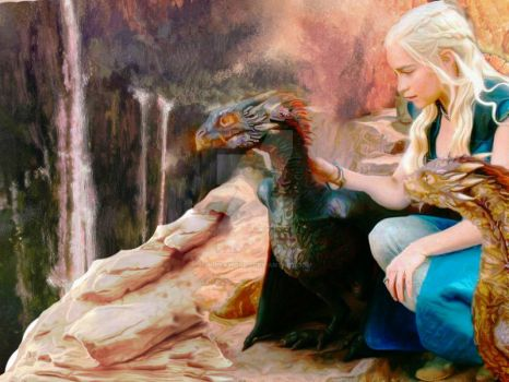 The Mother of Dragons by Jujikaworld