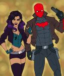 Syren and Red Hood by lilbluestem