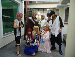 Fairy Tail by LRCoslovers