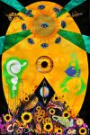 Crack in the Cosmic Egg by PaintMyWorldRainbow