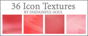 36 Pink Icon Textures by disdainful-soul