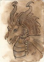 ATC Ink Dragon by Haawan