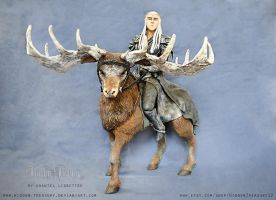 King of the Woodland Realm- Thranduil Sculpture by Hidden-Treasury