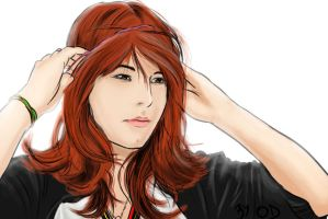 RED hair by ODesigner