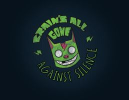 BRAINS ALL GONE NEW LOGO by EdgarTorre