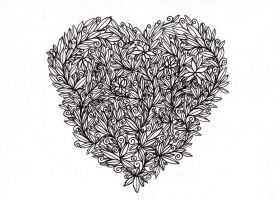 Heart of Leaves by MarcHorn