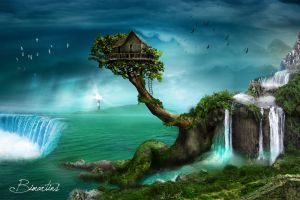 The tree house by Bimartins