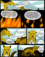 The Beginning of the End Page 5 by RafikiThePacmanFrog