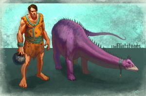 Meet the Flintstones by arvalis