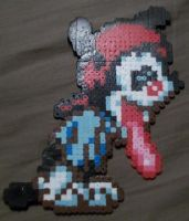 Wakko Warner bead sprite by super-baka