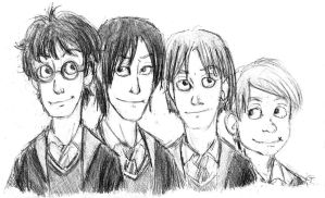 The Marauders - Doodle - by A-A-Fresca