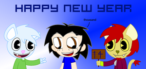 Happy new year to 2014 by samart0098