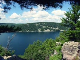 Devil's Lake by aron4174