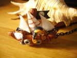 Necklace 'Pirate Ship' by Bojo-Bijoux