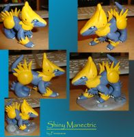 Shiny Manectric figure II by Fenrienne