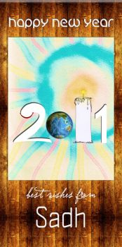 New year 2011 Poster by nafSadh