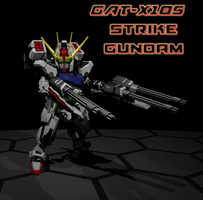 SD Strike Gundam 1 by ltla9000311