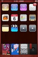 Classic Dock Icons and Wall by d1ckies