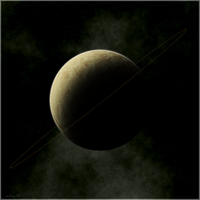 ringed planet-1 by istarlome