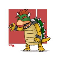 Bowser by IndianaJonas