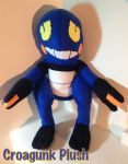 Croagunk Plush by CeltysShadow