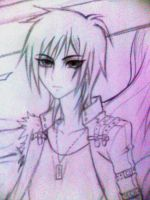 uncolored guy by Mari945