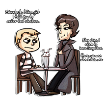 No Sherlock, This is Not Fine by chubird