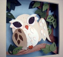 Summer Owl by tracyblank