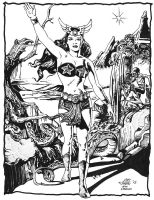 Darna First Appearance Cover Recreation by jovigolf