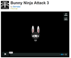 Bunny Ninja Attack by Tornaku