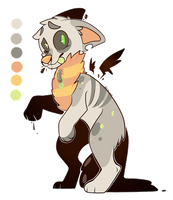 Undead Ink Dog Adopt *CLOSED* by FUDANSHl