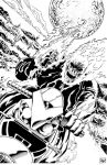 Ghost Rider cover inks by madman1