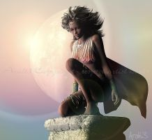 Pastel Dawn for Christel by Aral3D