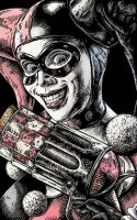 Harley Quinn by muttleymark