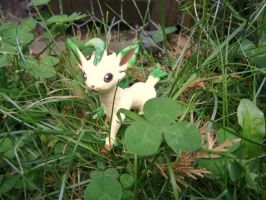 Wild Leafeon Appeared! by Fimochu