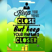 Your enemy is the best motivator by Gustafins