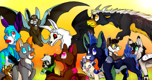 Group Photo by imintygemini