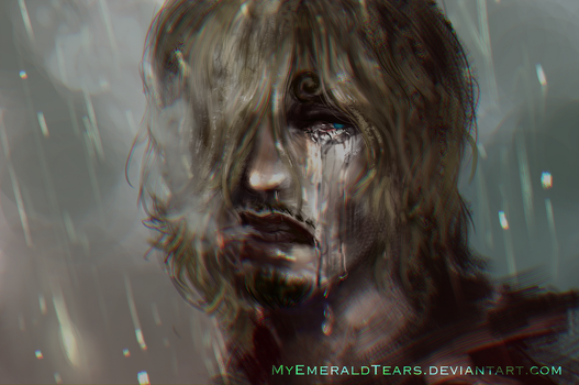 One Hour Speed Paint: Liar by MyEmeraldTears
