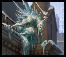 Ice gorgul by gugu-troll