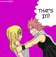 Manga Color- NaLu by mrseucliffex