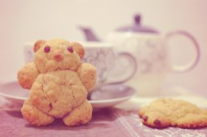Peanutbutter Bear by Lodchen-Photography