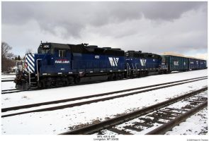 MRL GP35s 405 and 406 by hunter1828