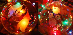 Derpy Hooves Glass Ornament by Clinkorz