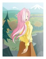Fluttershy Postal by Shinta-Girl