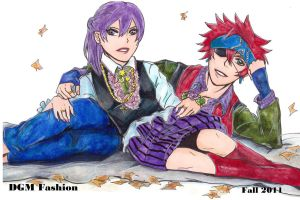 Lavi and Lenalee - DGM Fashion by KziraLee