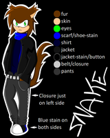 Snake The Weasel REF by SapphiresFlame
