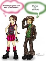 Say What? -Raz and Lili- by Psychonauts